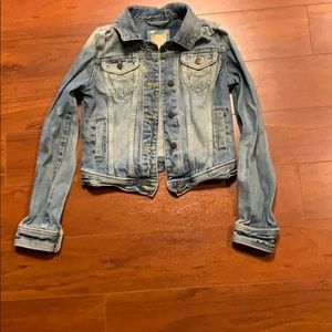 Abercrombie & Fitch Jean Jacket Junior Size M